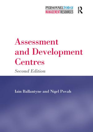 Assessment and Development Centres: 2nd Edition (Paperback) book cover