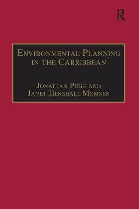 Environmental Planning in the Caribbean: 1st Edition (Paperback) book cover
