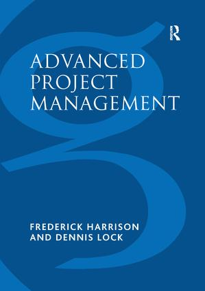 Advanced Project Management (Paperback) book cover