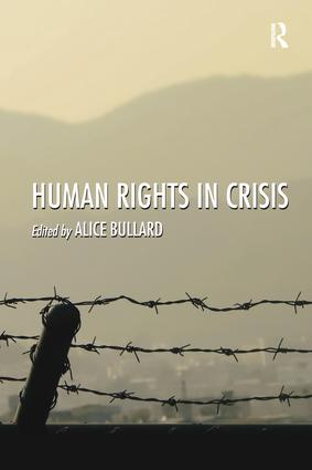 Human Rights in Crisis: 1st Edition (Paperback) book cover