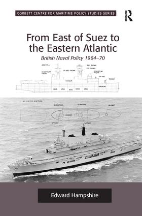 From East of Suez to the Eastern Atlantic: British Naval Policy 1964-70 book cover