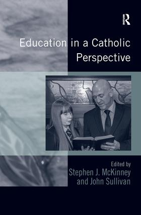 Education in a Catholic Perspective: 1st Edition (Paperback) book cover