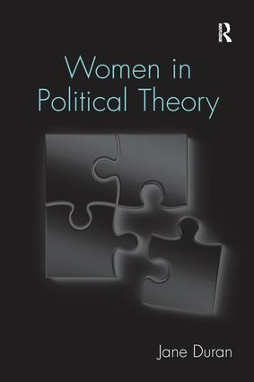 Women in Political Theory: 1st Edition (Paperback) book cover