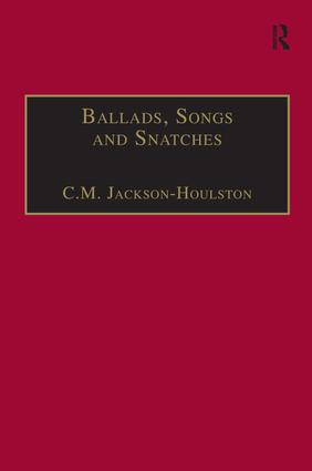 Ballads, Songs and Snatches: The Appropriation of Folk Song and Popular Culture in British 19th-Century Realist Prose book cover