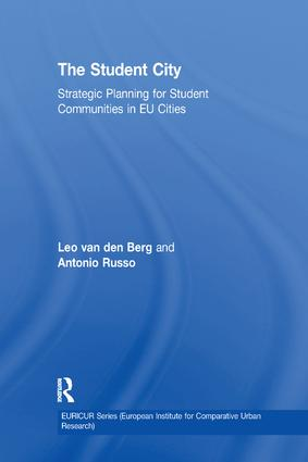 The Student City: Strategic Planning for Student Communities in EU Cities book cover