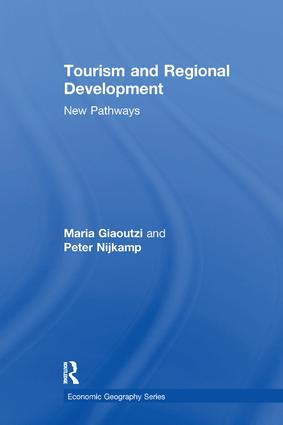 Tourism and Regional Development: New Pathways book cover