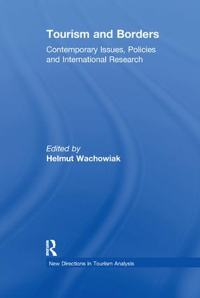 Tourism and Borders: Contemporary Issues, Policies and International Research book cover