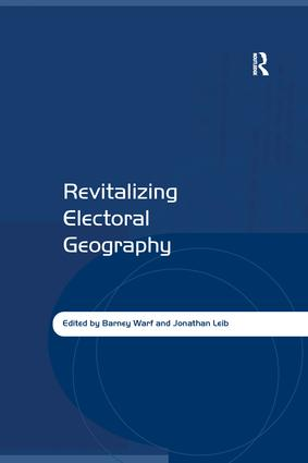 Revitalizing Electoral Geography: 1st Edition (Paperback) book cover