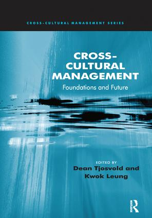 Cross-Cultural Management: Foundations and Future book cover