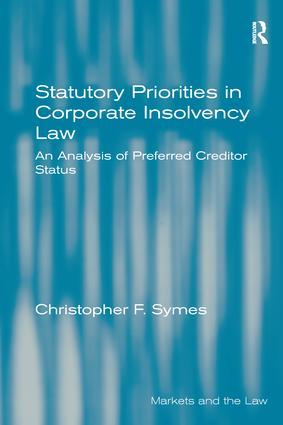 Statutory Priorities in Corporate Insolvency Law