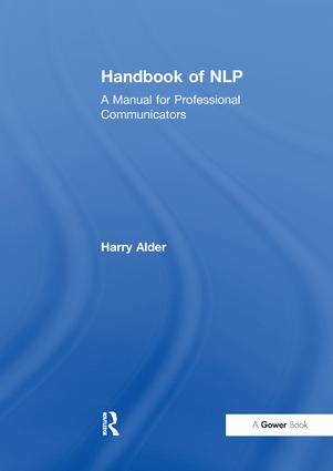 Handbook of NLP: A Manual for Professional Communicators, 1st Edition (Paperback) book cover