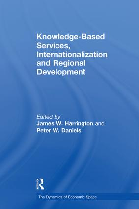 Knowledge-Based Services, Internationalization and Regional Development book cover