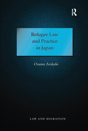 Refugee Law and Practice in Japan book cover