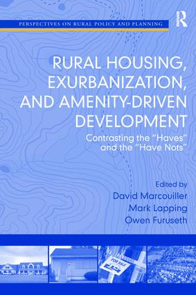 Rural Housing, Exurbanization, and Amenity-Driven Development