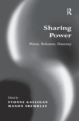Sharing Power: Women, Parliament, Democracy, 1st Edition (Paperback) book cover