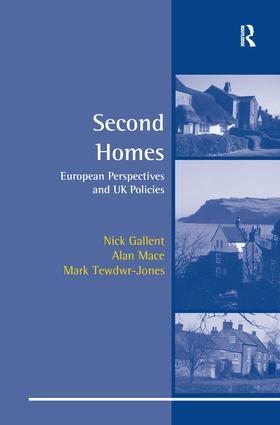 Second Homes: European Perspectives and UK Policies, 1st Edition (Paperback) book cover
