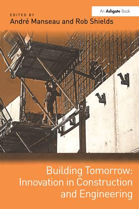 Building Tomorrow: Innovation in Construction and Engineering: 1st Edition (Paperback) book cover