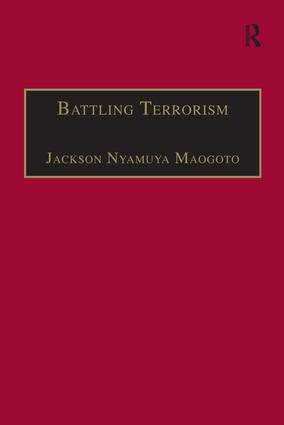 Countering Terrorism: An Evaluation of the Law Enforcement and Conflict Management Approaches