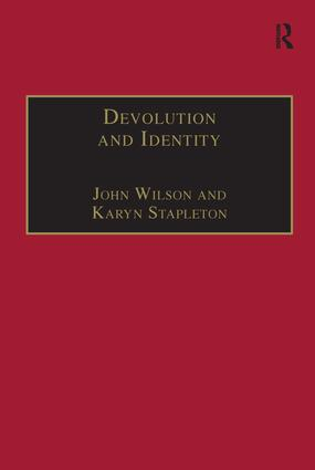 Devolution and Identity: 1st Edition (Paperback) book cover