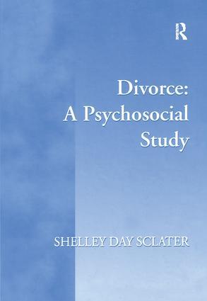 Divorce: A Psychosocial Study book cover