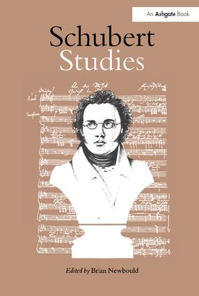 Schubert Studies: 1st Edition (Paperback) book cover