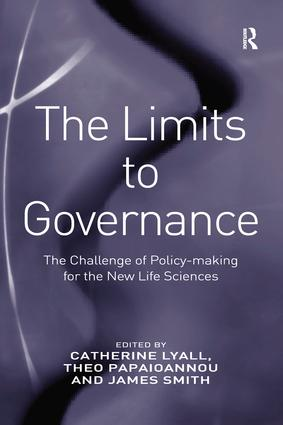 The Limits to Governance: The Challenge of Policy-Making for the New Life Sciences, 1st Edition (Paperback) book cover
