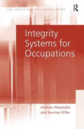 Integrity Systems for Occupations book cover