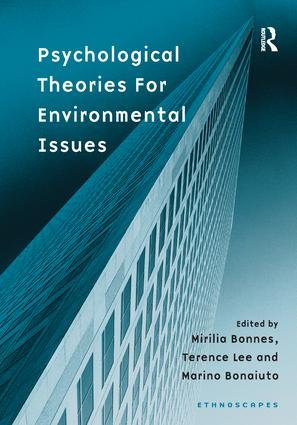 Psychological Theories for Environmental Issues: 1st Edition (Paperback) book cover