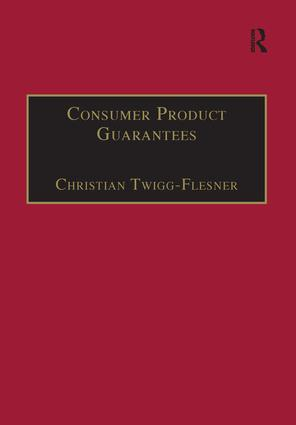 Consumer Product Guarantees book cover