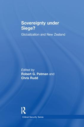 Sovereignty under Siege?: Globalization and New Zealand, 1st Edition (Paperback) book cover