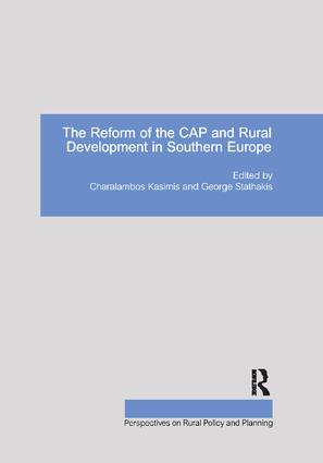 The Reform of the CAP and Rural Development in Southern Europe book cover