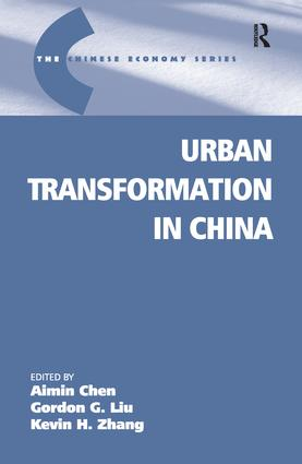 Urban Transformation in China book cover