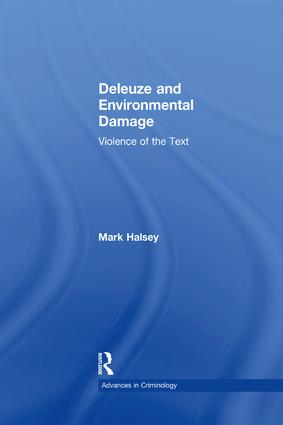 Deleuze and Environmental Damage: Violence of the Text book cover