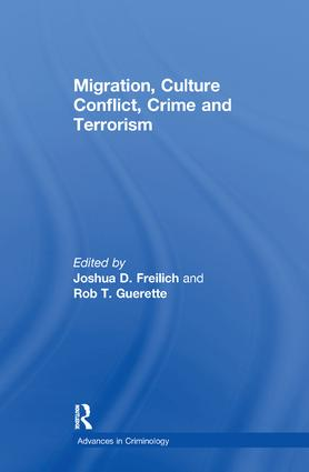 Migration, Culture Conflict, Crime and Terrorism book cover