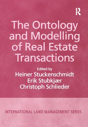 The Ontology and Modelling of Real Estate Transactions: 1st Edition (Paperback) book cover