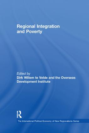 Regional Integration and Poverty book cover