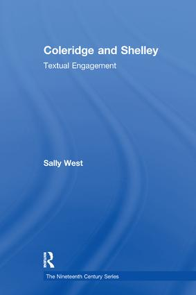 Coleridge and Shelley: Textual Engagement, 1st Edition (Paperback) book cover