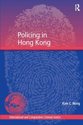 Policing in Hong Kong book cover