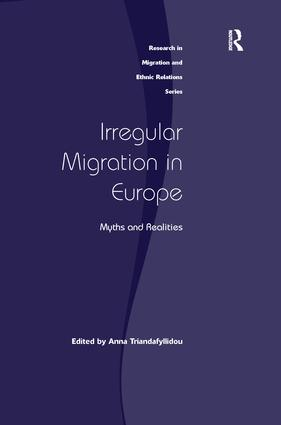 Irregular Migration in Europe: Myths and Realities, 1st Edition (Paperback) book cover