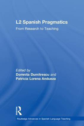 L2 Spanish Pragmatics: From Research to Teaching book cover