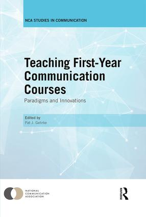 Teaching First-Year Communication Courses: Paradigms and Innovations (Hardback) book cover