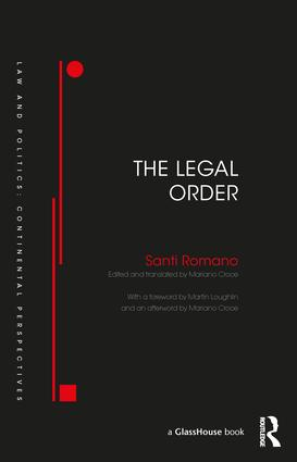 The Legal Order (Hardback) book cover