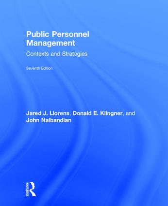 Public Personnel Management: Contexts and Strategies book cover