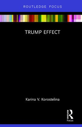 Trump Effect: 1st Edition (Hardback) book cover