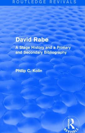 Routledge Revivals: David Rabe (1988)