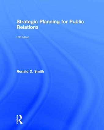 Strategic Planning for Public Relations book cover
