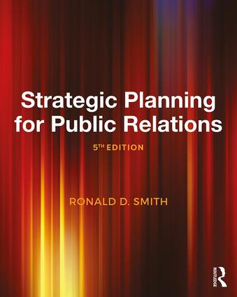 Strategic Planning for Public Relations: 5th Edition (Paperback) book cover