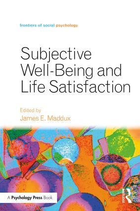 Subjective Well-Being and Life Satisfaction (Paperback) book cover