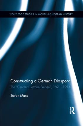 Constructing a German Diaspora: The