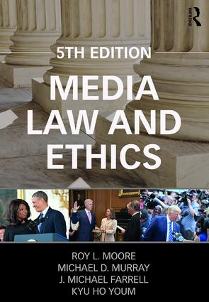 Media Law and Ethics: 5th Edition (Paperback) book cover